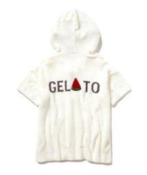 gelato pique/'スムーズィー'サマージャガードパーカ/500955092