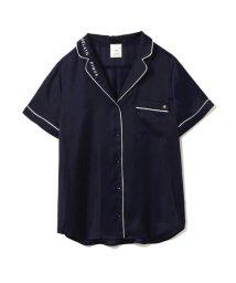 gelato pique/サテンパイピングシャツ/500956884