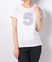 en recre/【PUPULA】ナンバリングモチーフTシャツ/500923984
