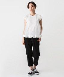petit main LIEN/【LIEN】チュールビスチェドッキングTシャツ/500926719
