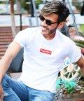 JIGGYS SHOP/クルーネック & Vネック プリント ロゴ Tシャツ / カットソー メンズ プリント/500927880