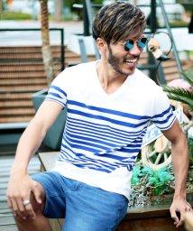 JIGGYS SHOP/マルチボーダーTシャツ & 7分袖Tシャツ / Tシャツ メンズ ボーダーTシャツ/500942168