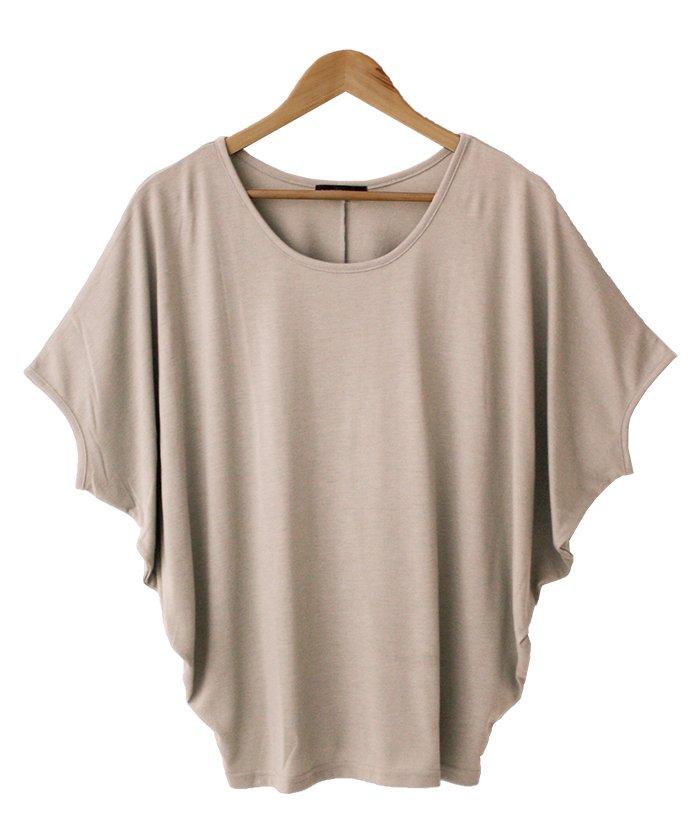 ワイドスリーブドルマンTシャツ