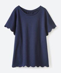 haco!/いつものTシャツよりかわいげご用意スカラップカットソートップス/500955881