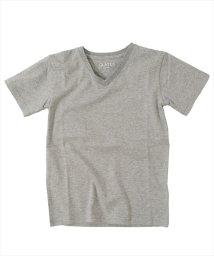 GLAZOS/ベーシック・Vネック半袖Tシャツ/500955903