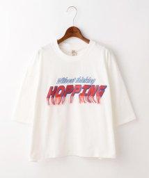DOUBLE NAME/HOPPING刺繍TEE/500957239