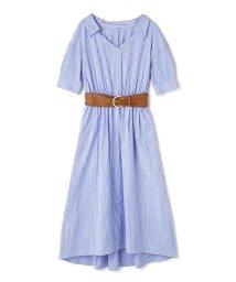 PROPORTION BODY DRESSING/《BLANCHIC》ベルテッドシャツワンピース/500957338
