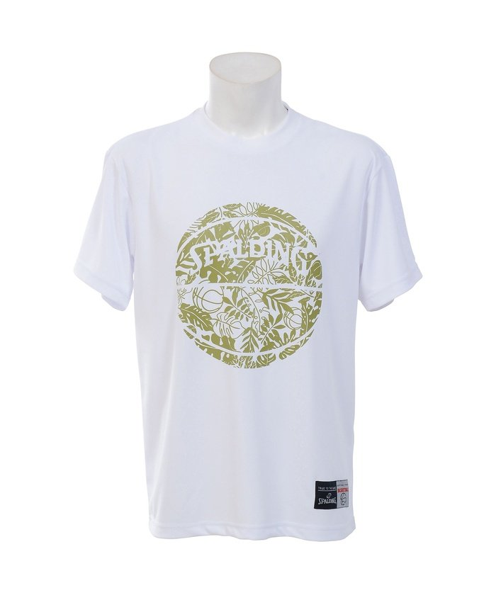 スポルディング/Tシャツ−LEAF BALL