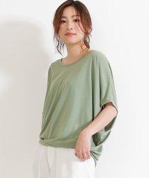 SocialGIRL/ワイドスリーブドルマンTシャツ/500958037