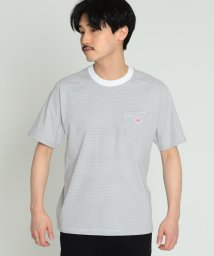 BEAMS MEN/DANTON / ボーダー ポケット Tシャツ▲/500740889