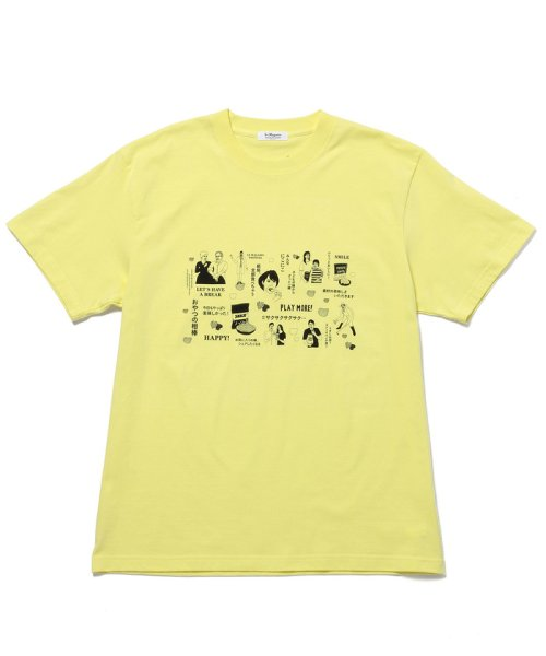 Adam et Rope Le Magasin(アダム エ ロペ ル マガザン)/【Calbee×LeMagasin】コラボ  Tシャツ/EKM0801