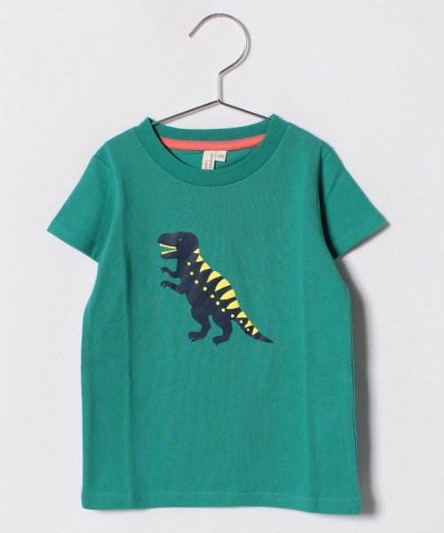 LAGOM(ラーゴム)/恐竜プリントTシャツ/1206541221411