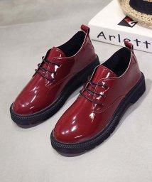 miniministore/オックスフォードシューズ おじ靴 レースアップシューズ エナメル靴 レディース/500954987