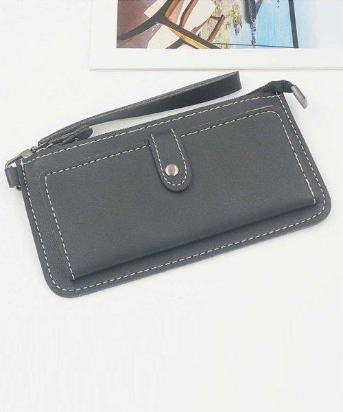 4268912beda9 miniministore(ミニミニストア)/長財布 レディース 薄い財布 小銭入れあり 携帯も