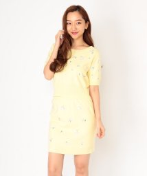 CECIL McBEE/小花刺繍ニットアップ/500962335