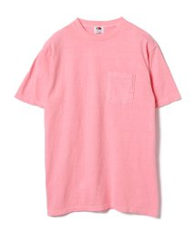 BEAMS OUTLET/FRUIT OF THE LOOM × BEAMS / フルーツ染 ポケットTシャツ/500741414