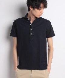 SSENTIAL GARMENT MEN'S BIGI/ハニカム素材 ポロシャツ/ボーダー柄 【JAPAN MADE】/500924086