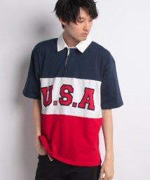 STYLEBLOCK/切替ロゴBIGラガーシャツ/500927441