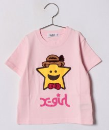 X-girl Stages/パナマハットキラッキーTシャツ/500936606