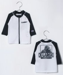 XLARGE KIDS/Championコラボロゴ入りラッシュガード/500936616