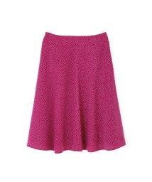 NATURAL BEAUTY LARGE/◆大きいサイズ◆楊柳ドットプリントスカート/500963804