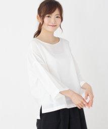 pink adobe/ボリュームスリーブシャツ/500964017