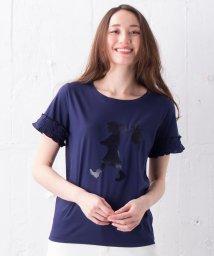 en recre/【KAREN WALKER】シルエットプリントTシャツ/500923920