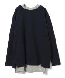 BEAMS OUTLET/BEAMS / ダブルフェイス レイヤード Tシャツ/500924326