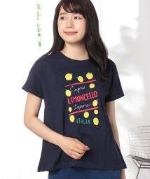 Afternoon Tea LIVING/レモン柄Tシャツ/500927328