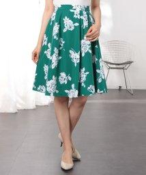 31 Sons de mode/単色花柄スカート/500956012