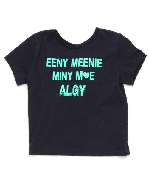 ALGY(アルジー)/バックねじりT/G207178