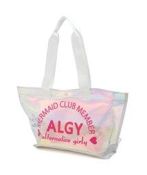 ALGY/バイカラービーチBAG/500958061