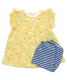 ampersand / F.O.KIDS MART/Girl'sうさぎ柄半袖半パンツパジャマ/500958093