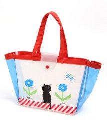 Petit jam / F.O.KIDS MART/ネコと鳥さんのビーチバッグ/500958106