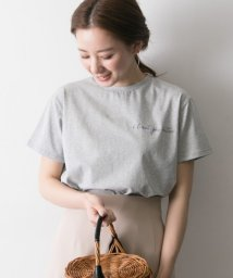 URBAN RESEARCH/ロゴ刺繍Tシャツ/500967085