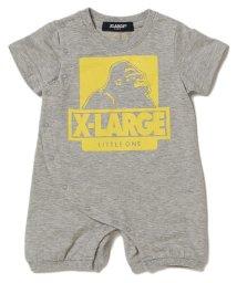 XLARGE KIDS/アイコンプリント入りロンパース/500969617