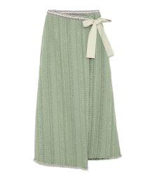 Lily Brown/ツイードラップスカート/500969736