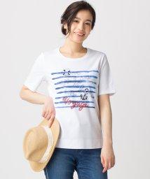 Leilian/マリンモチーフTシャツ/500908555