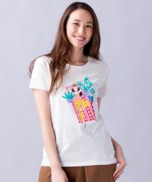 en recre/【DES PETITS HAUTS】バカンスプリントTシャツ/500943111