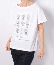 en recre/【Brahmin】プリントTシャツ/500943138