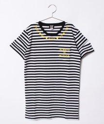 ANAP GiRL/袖開きポケット付きTシャツワンピース/500961968