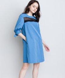 LANVIN en Bleu/リボンスリーブワンピース/LB0005098