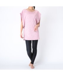 VacaSta Swimwear/【JILLSTUARTyoga】kasuriスリーブデザインTシャツ/500938063