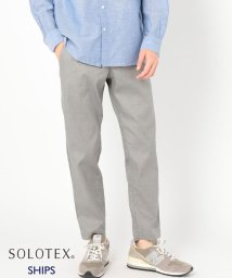SHIPS MEN/SC: SOLOTEX(R) SAFILIN リネン ハイブリッド イージー パンツ/500901956