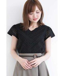 PROPORTION BODY DRESSING/【CanCam  6月号掲載】スカラコットンレースブラウス/500934635