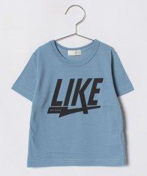 b-ROOM/インパクトロゴTシャツ/500957958