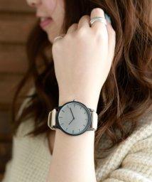 colleca la/バイカラーデザインの腕時計/500962609