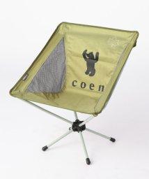 coen/LOGOS(ロゴス)別注コーエンベアプリントバケットチェア(折りたたみ可)/500974179