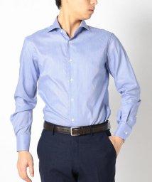 SHIPS MEN/SD:【ALBINI社製生地】コードストライプ ホリゾンタルカラーシャツ/500975405