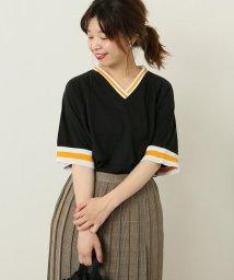 JOURNAL STANDARD/【VKM/Venus Knitting Mills】SPORTSWEAR BASEBALL JERSEY:VネックTシャツ/500976282